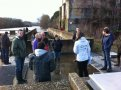 Visite station comptage poissons migrateurs au barrage Descartes (2) - EPTB (...)